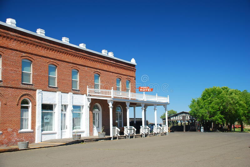 Ghost town shaniko, Oregon, USA royalty free stock photos