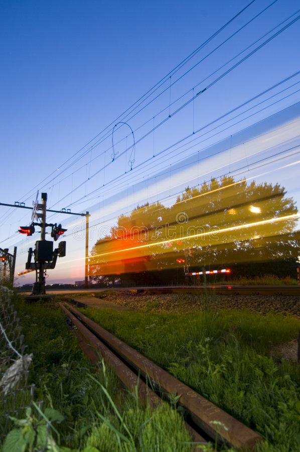 Download Ghost train stock image. Image of train, blur, flashing - 2597481