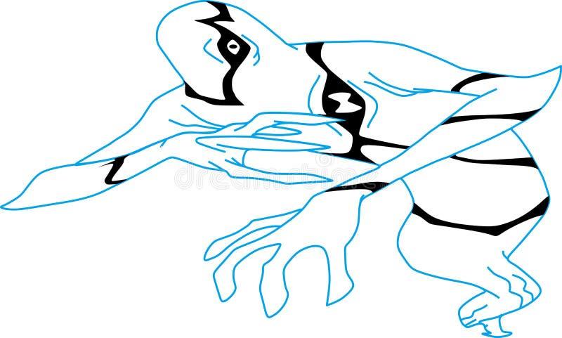 Ghostfreak obrazy royalty free