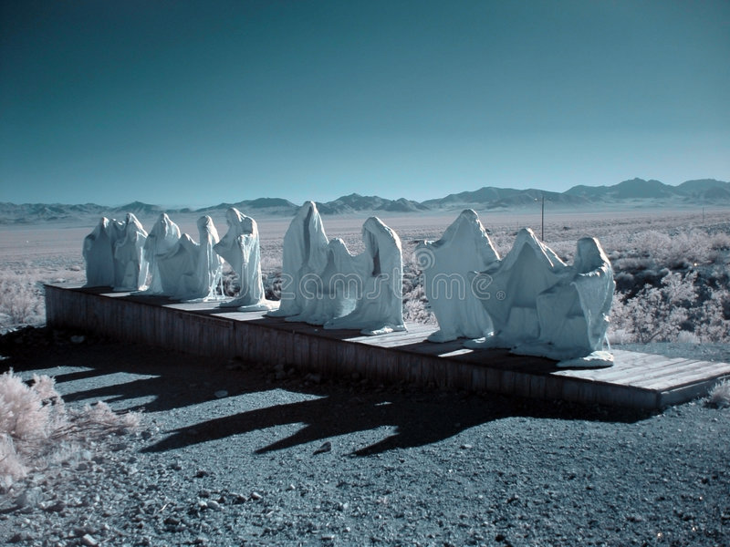 Download Ghosts stock image. Image of infrared, ghost, mountains - 150939