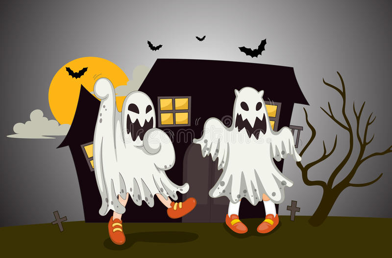 Download Ghosts stock illustration. Illustration of outdoor, ghost - 25541235