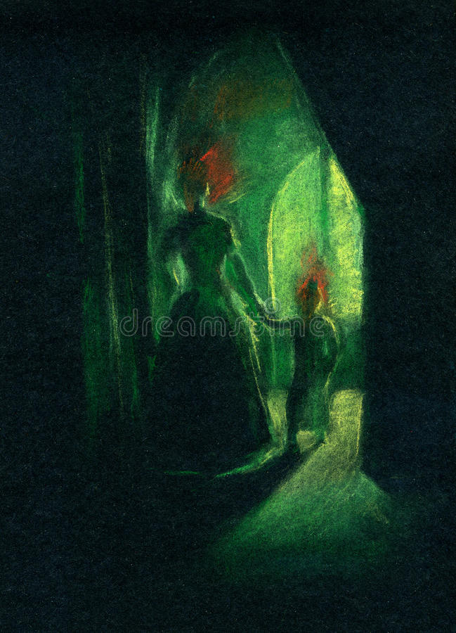 Download Ghosts stock illustration. Image of illustration, dark - 29689100
