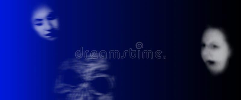 Download Ghosts banner stock illustration. Illustration of ghost - 6210025