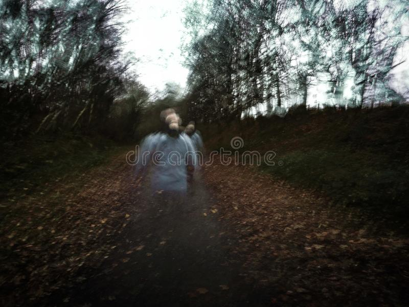 Ghosts stock photo