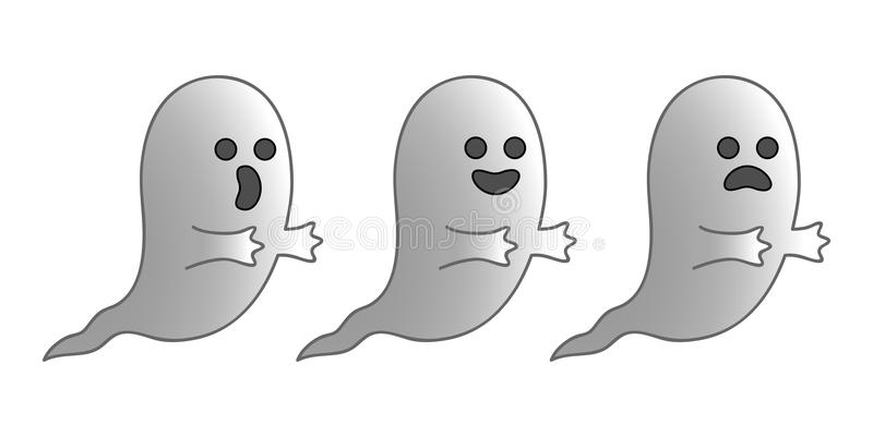 Ghosts royalty free stock image