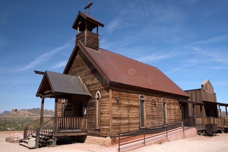 Ghosttown, Arizona, USA stockbilder