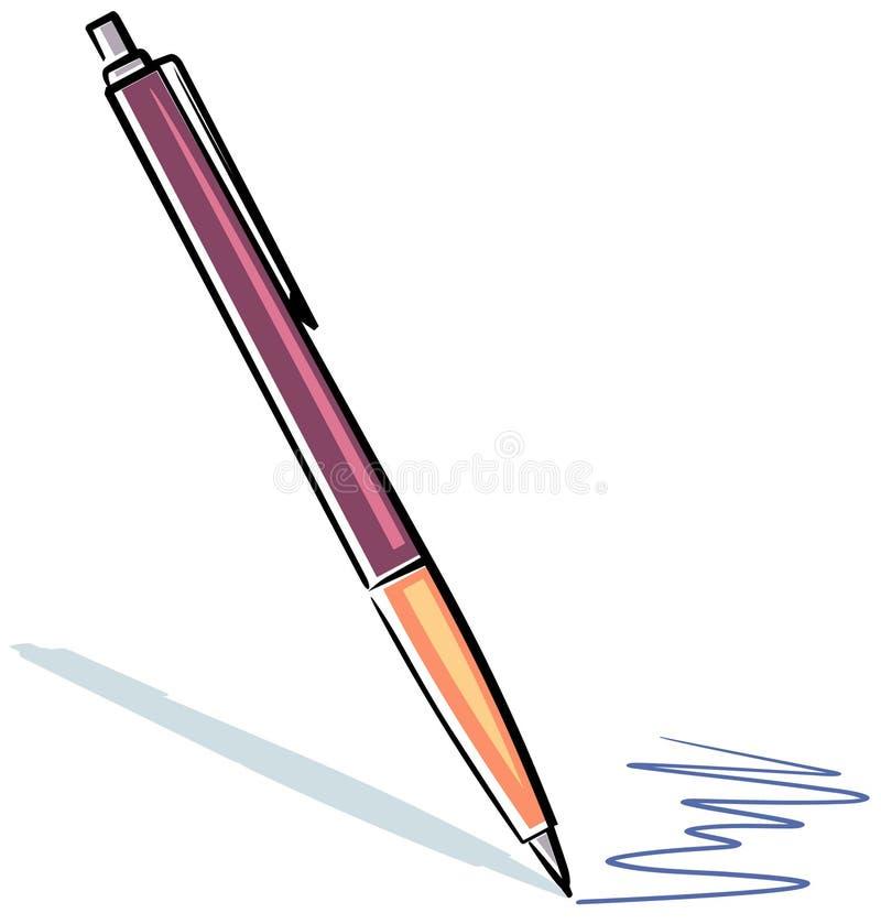 Ghostwriter (vettore) illustrazione di stock