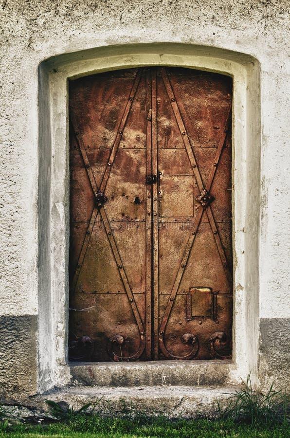 Ghotic Türen stockbilder