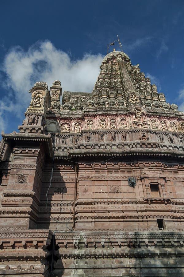 Ghrneshwar Shiva temple-à Verul est un Jyotirlinga Ellora Aurangabad Maharashtra photo stock