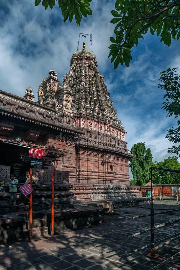 Ghrneshwar Shiva temple-à Verul est un Jyotirlinga Ellora Aurangabad Maharashtra photographie stock