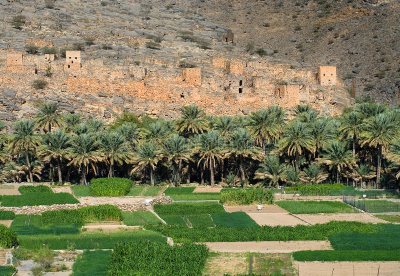 Ghul, in sultanate Oman stock images