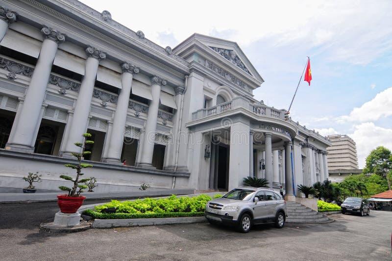 Gia Long Palace in Saigon stock photography
