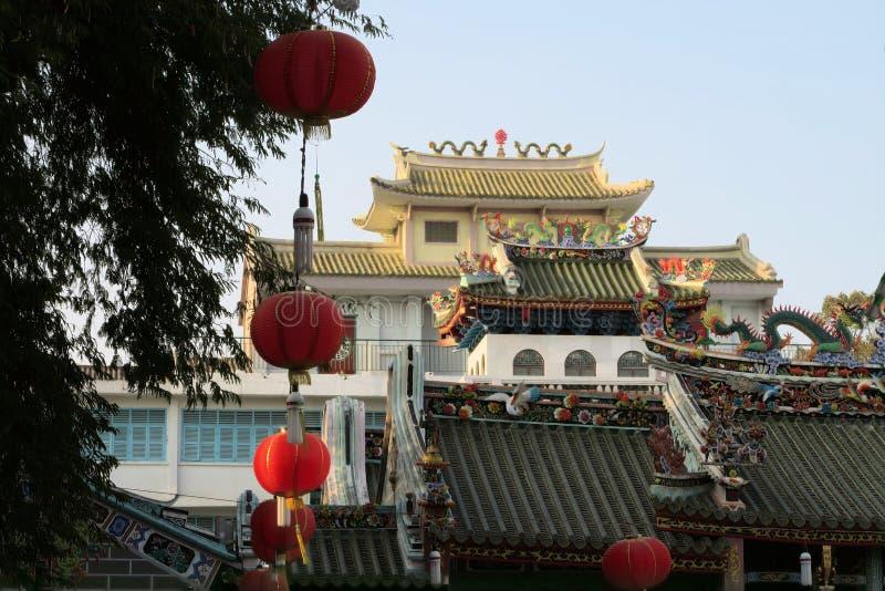 Giac Lam Pagoda, Ho Chi Minh City, Saigon, Vietnam royalty-vrije stock fotografie