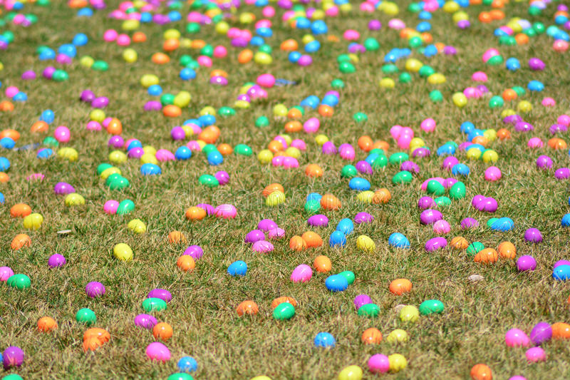 Giacimento dell'uovo di Pasqua fotografia stock