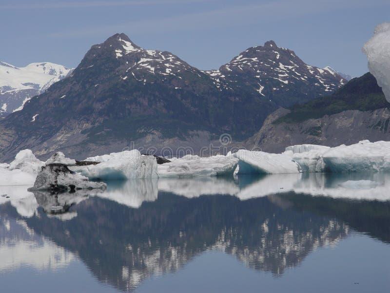 Giacimento di ghiaccio della Colombia fotografia stock