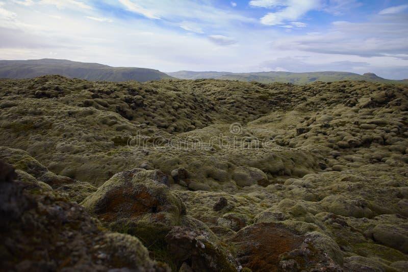 Giacimento di lava fotografie stock libere da diritti