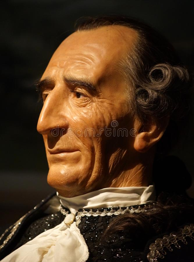 Giacomo Casanova fotografia de stock