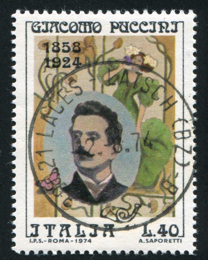 Giacomo Puccini stock abbildung