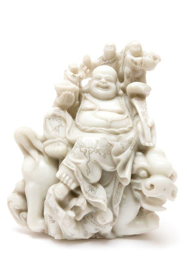 Giada Buddha immagini stock