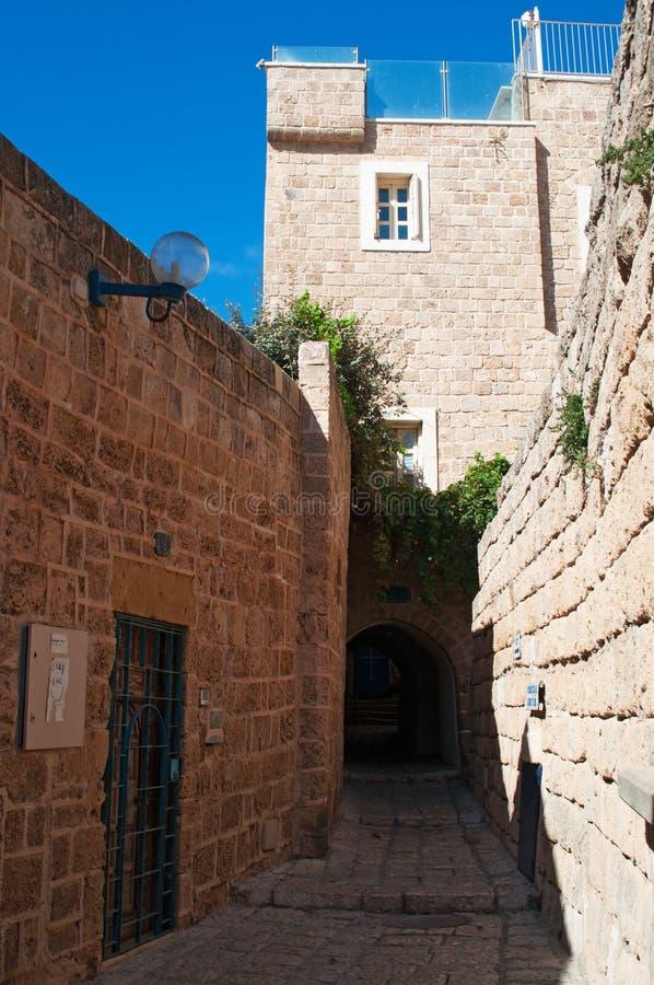 Giaffa, vecchia città, Israele, Medio Oriente fotografia stock libera da diritti