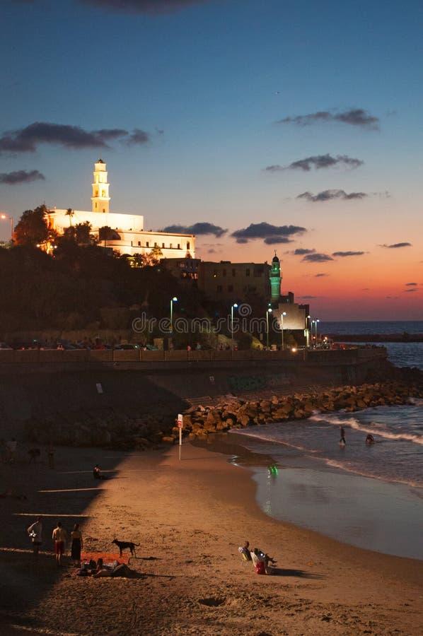 Giaffa, vecchia città, Israele, Medio Oriente fotografia stock