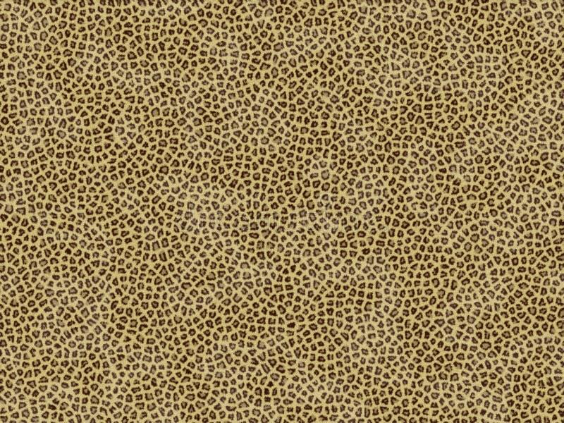 Giaguaro animale di struttura della pelliccia illustrazione di stock
