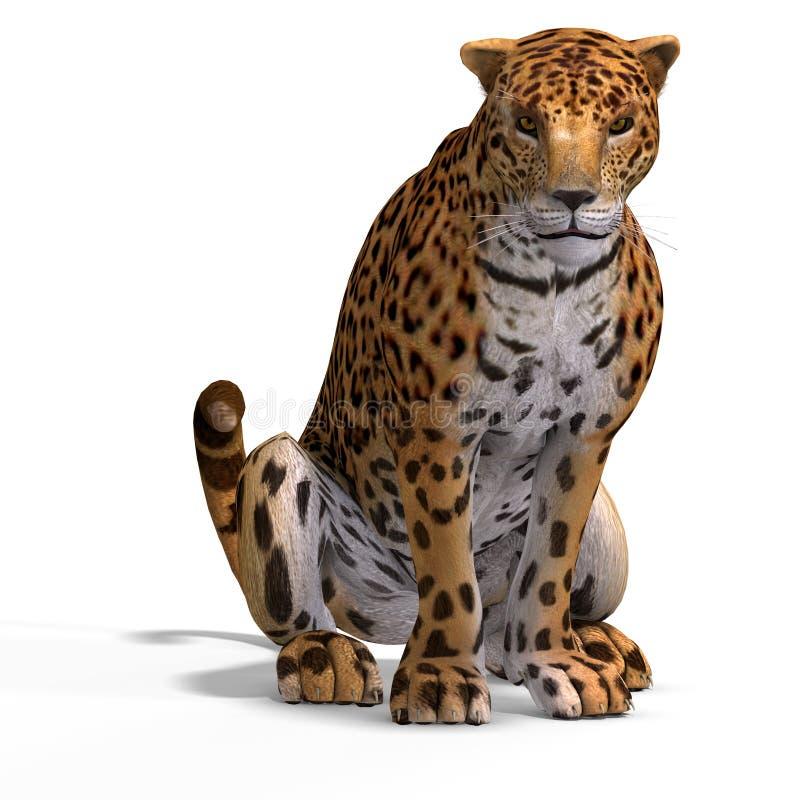 Giaguaro del grande gatto illustrazione vettoriale