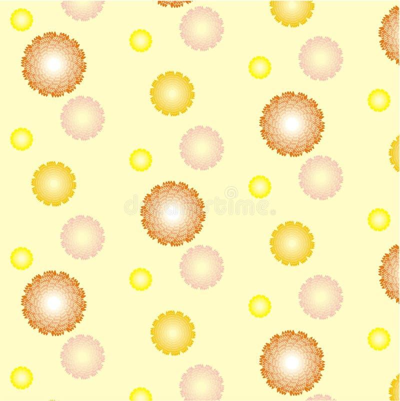 Giallo del fiore fotografie stock