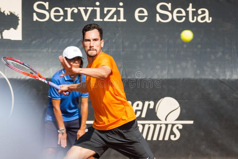 Tennis Internationals Atp Challenger Biella stock photos