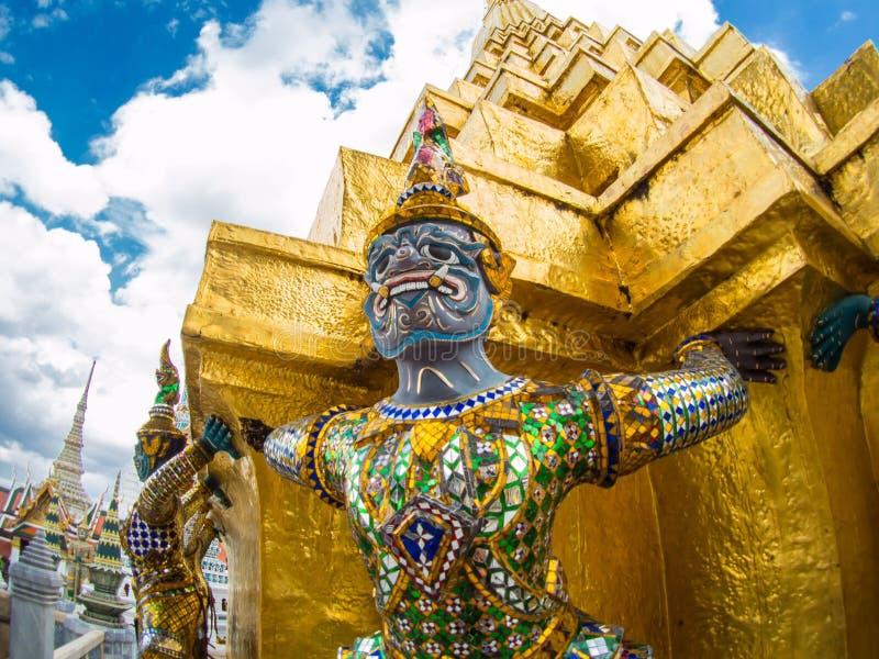Gians στο phra Wat keaw στοκ εικόνα με δικαίωμα ελεύθερης χρήσης