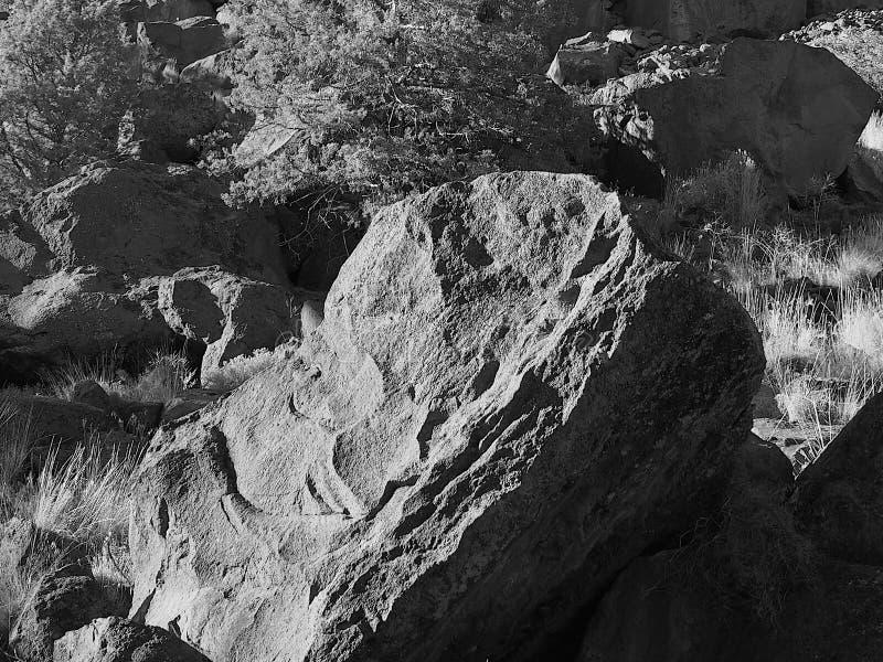 Giant Boulder stock photo