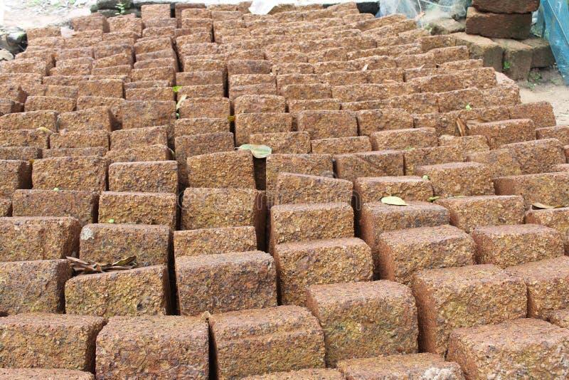 Giant bricks stock photography