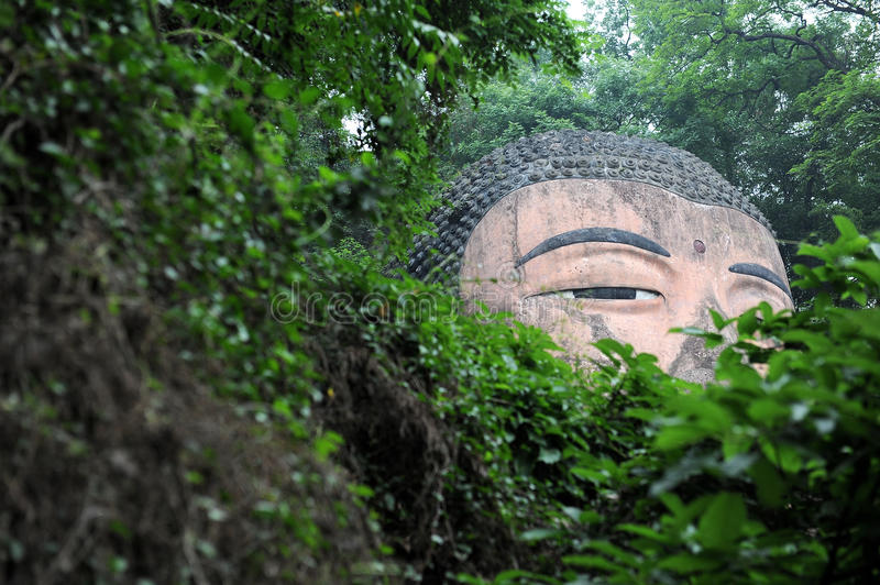 Download The giant buddah of leshan stock image. Image of history - 31031569