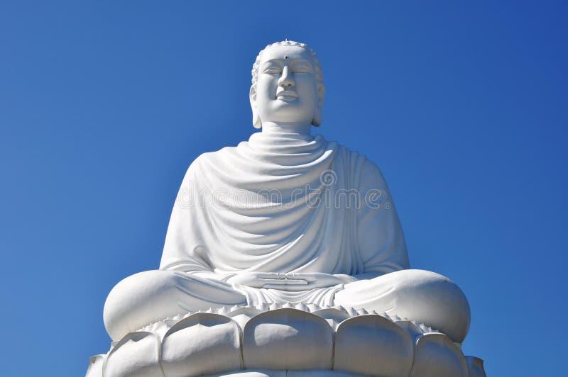 Giant buddha royalty free stock image
