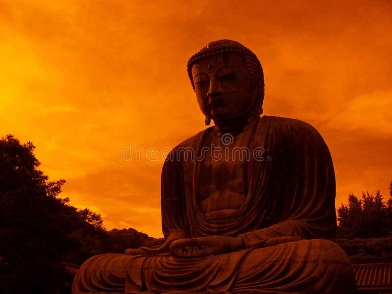 Download Giant Buddha statue stock photo. Image of japan, temple - 1036800