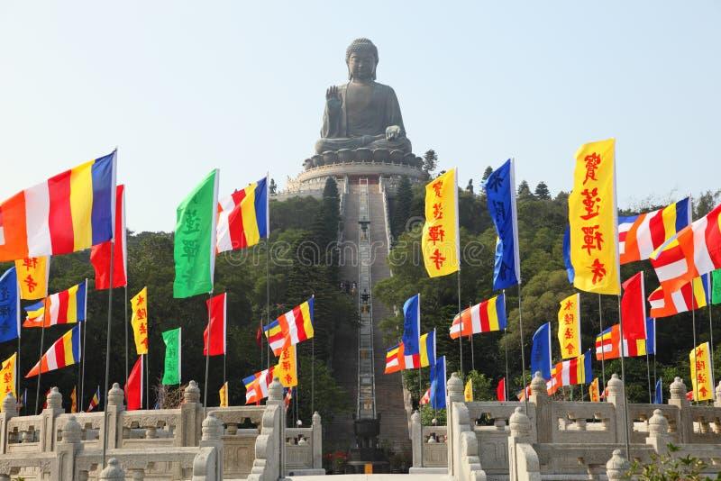 Giant Buddha Statue Stock Photography