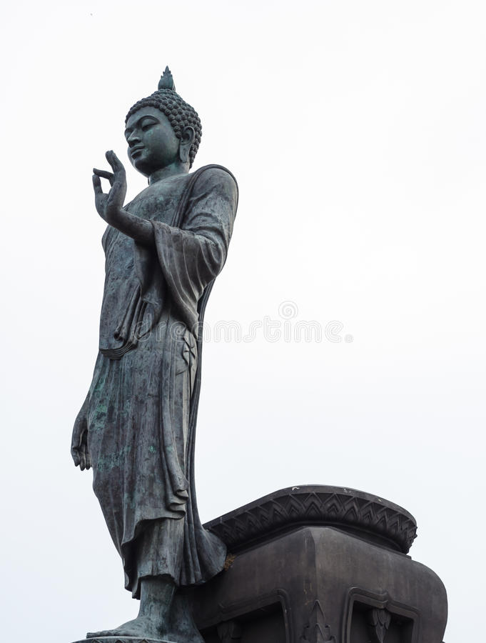 Download Giant buddha statue stock image. Image of architecture - 24938367