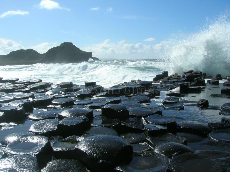 Download Giant causeway stock image. Image of basalt, antrim, hexagonal - 7902013