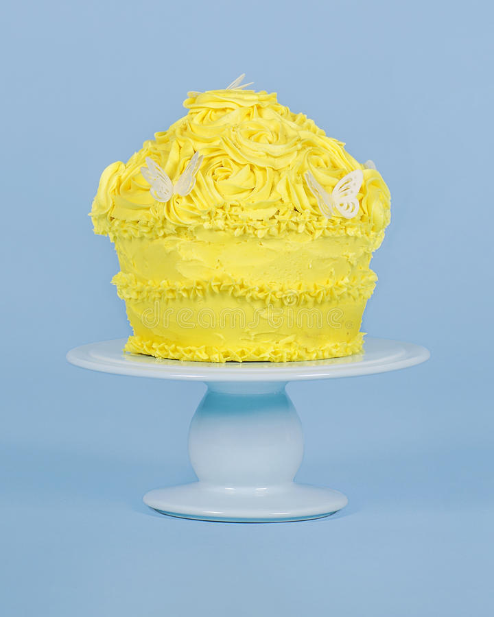 Giant Cup Cake royalty free stock photos