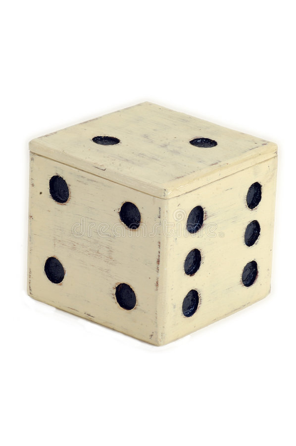 Download Giant Dice Box stock image. Image of container, over, game - 31039