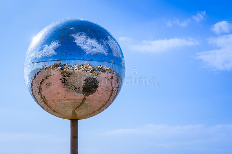 Giant Disco Ball royalty free stock photo