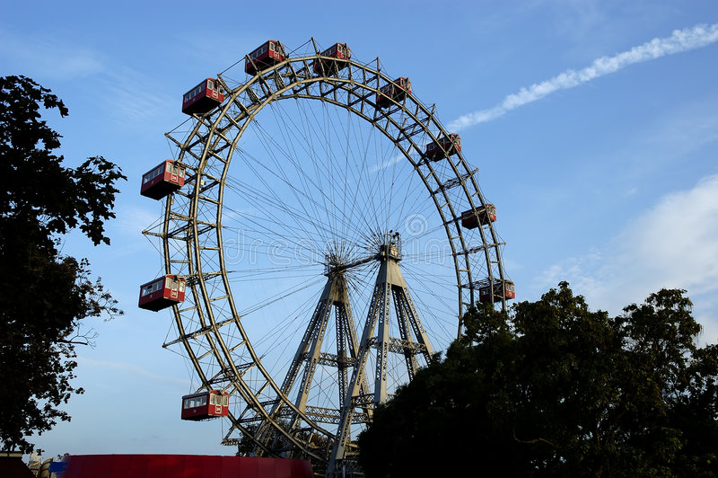 Download Giant ferris wheel stock image. Image of prater, carrousel - 1508879