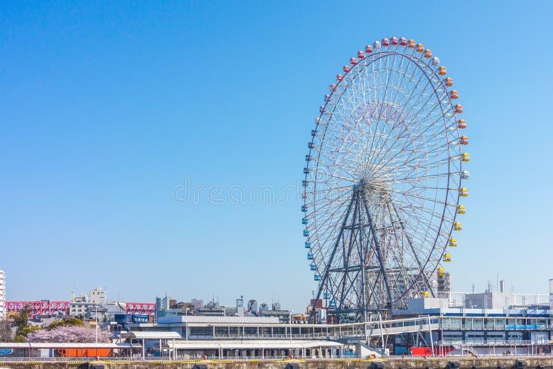 Giant ferris wheel stock photography