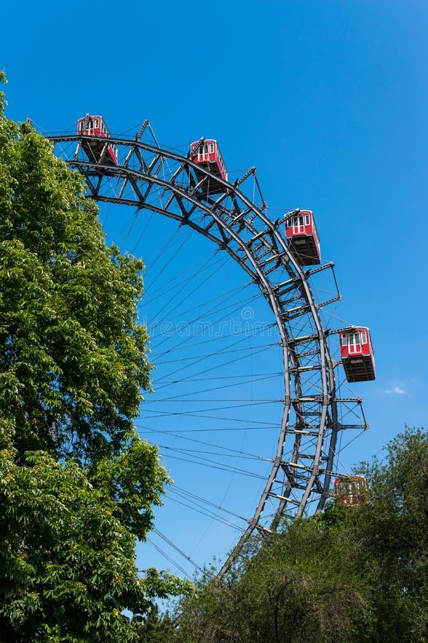Giant Ferris wheel stock photo
