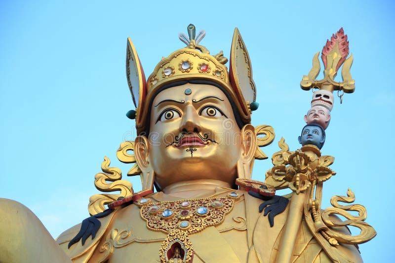 Download Giant gold sculpture. stock photo. Image of kathmandu - 36574704