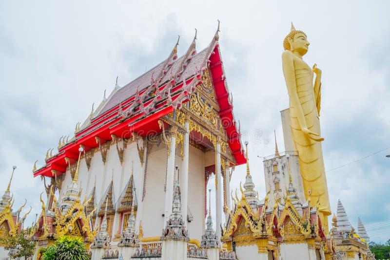 The giant golden Buddha,Buddhism,Thailand royalty free stock photo
