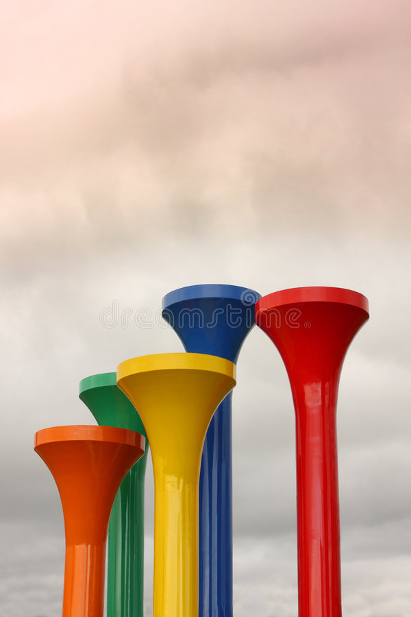 Free Giant Golf Tees Stock Images - 9318714