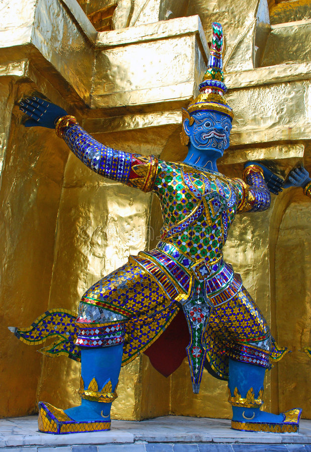 Download Giant Guard – Bangkok Thailand Stock Photo - Image: 7121044
