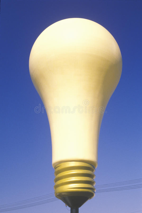 Download Giant light bulb stock image. Image of inspirational - 23148221