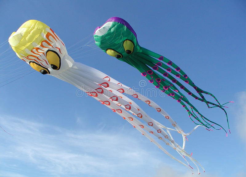 Download Giant octopus kites stock image. Image of octopus, open - 9659639